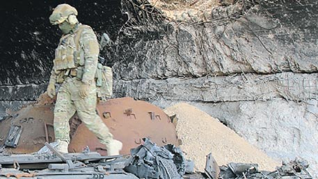 Русский спецназ в арабской пустыне: репортаж о бойцах ССО