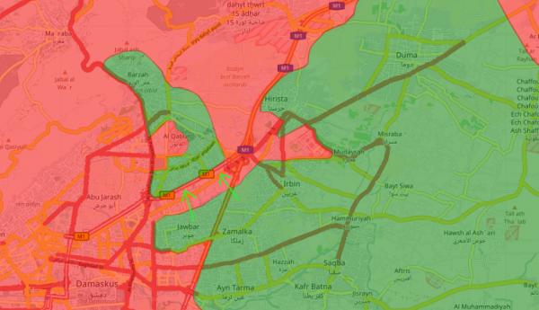 Сирия: в бой брошено все