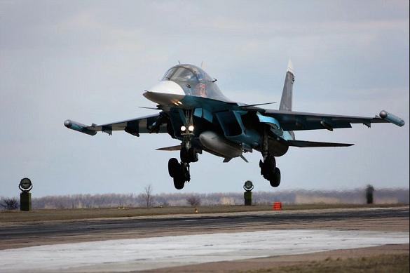 Пусть НАТО трепещет: наши Су-34 летят