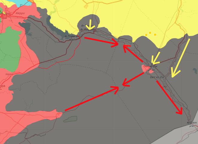 Сирия: бросок на Ракку