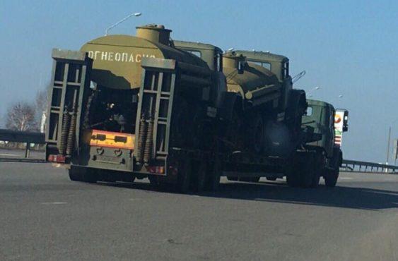 Украина гонит в АТО радиоактивную технику из Чернобыля