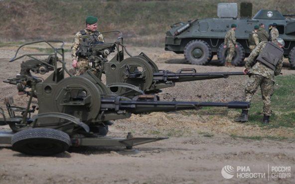 Украина готовится к летней кампании — на границе с Крымом