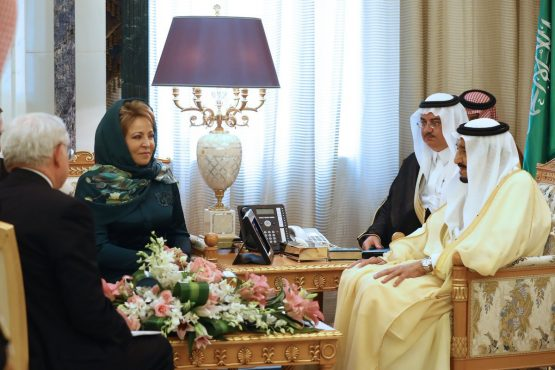 Путин прорубил окно в арабский мир, а Матвиенко завоевала доверие саудитов