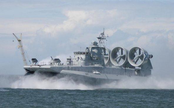 Малый десантный корабль проекта 12322 «Зубр»