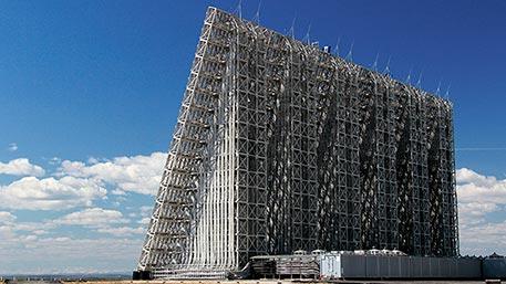 В России создано сплошное радиолокационное поле для защиты от ракет