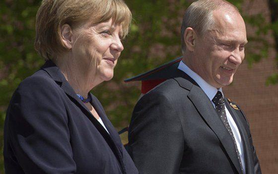 Отягощенные «Минском»: итоги встречи Путина и Меркель для Украины