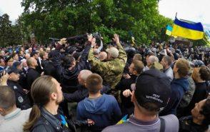 Власти Украины мстят за «Марш Победы» и Красное знамя