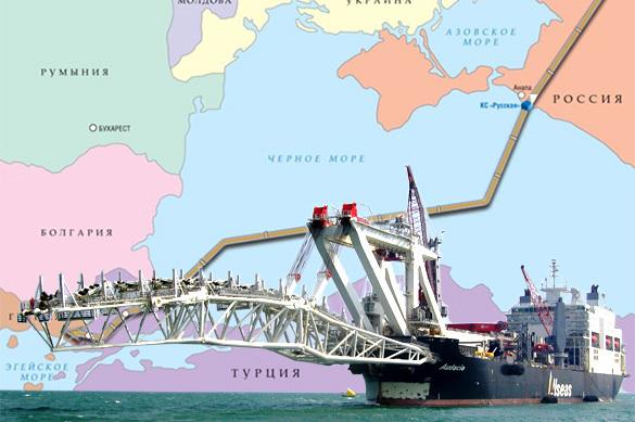 «Газпром» стягивает силы: активизация строительства Турецкого потока