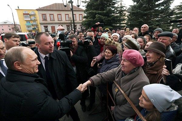 Главный фронт Путина