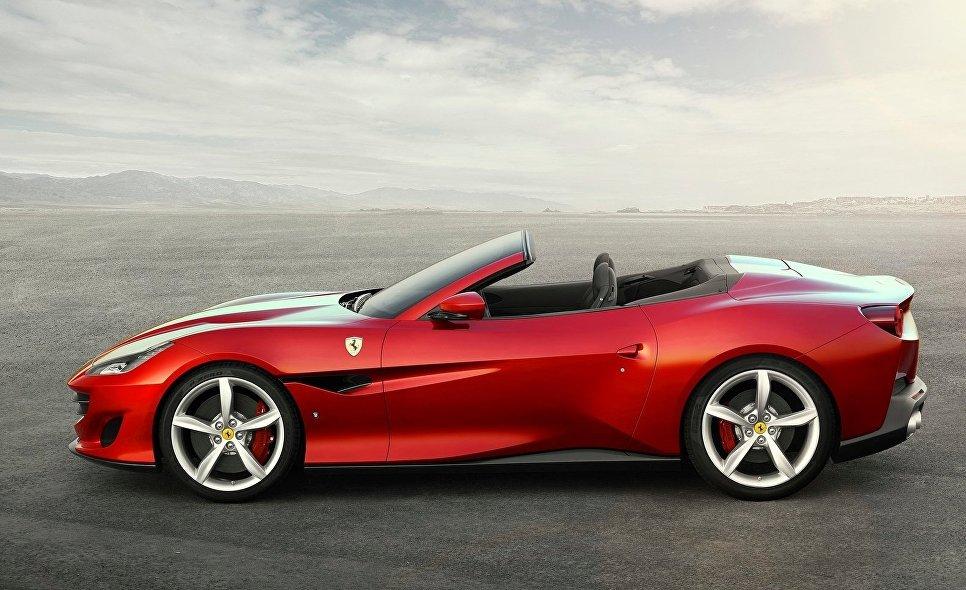 Кабриолет Ferrari Portofino