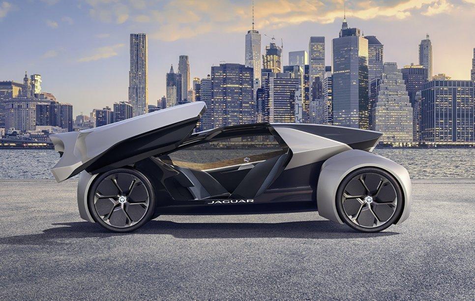 Беспилотный электромобиль Jaguar Future Type Concept