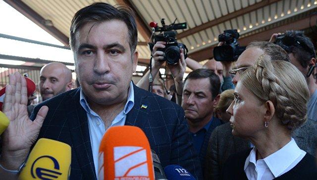 """Прорыв Саакашвили на Украину: """"фарс века"""" в реальном времени"""