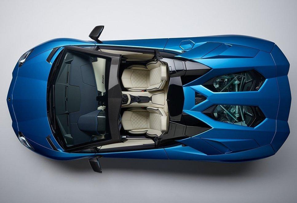 Автомобиль Lamborghini Aventador S Roadster