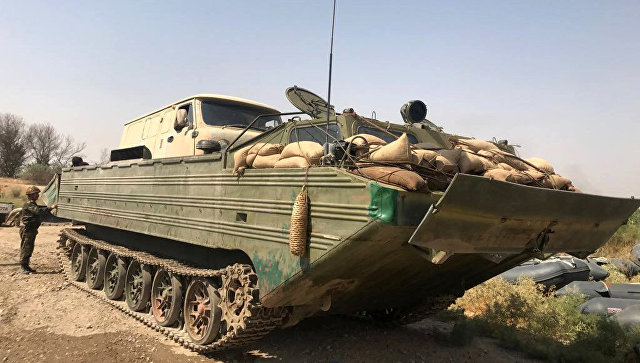 Кольцо вокруг ИГ в Дейр-эз-Зоре сжимается: армия САР форсировала Евфрат