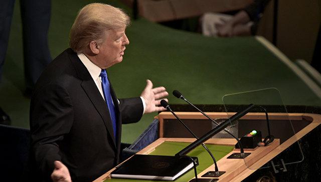 """Слышу голос """"вашингтонского болота"""": о чем говорил Трамп с трибуны ООН"""