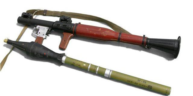 РПГ – ручной противотанковый гранатомет