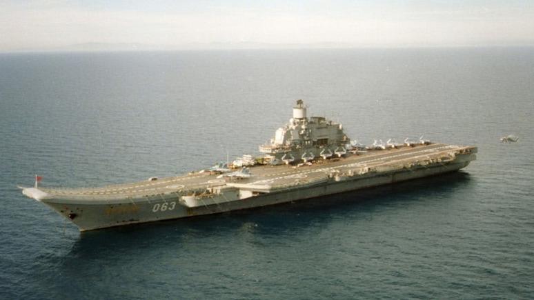 National Interest не верит в успех российского суперавианосца