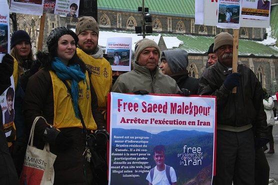 Международная кампания в поддержку Саида Малекпура привела к замене смертной казни пожизненным заключением