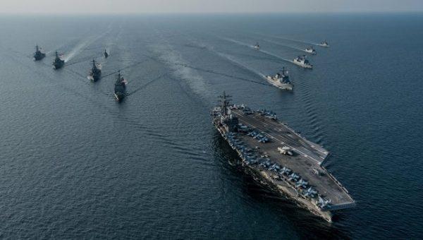 """""""Ковчеги демократии"""". На что способны авианосные ударные группы ВМС США"""