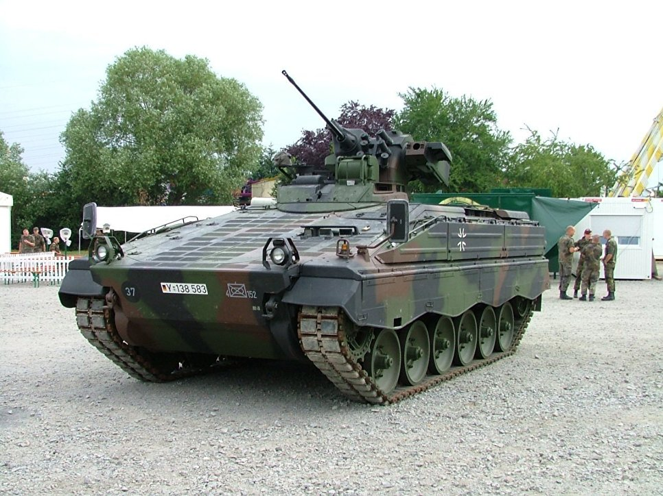 "Германская боевая машина пехоты (БМП) ""Мардер"""