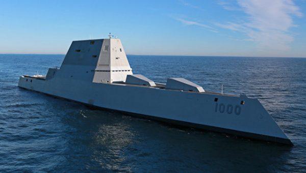 """Неприкаянный """"Замволт"""". Почему """"суперэсминцу"""" ВМС США нет места во флоте"""
