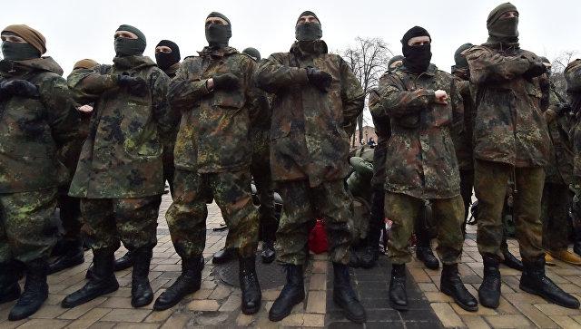 Активисты блокировали офис канала NewsOne в Киеве