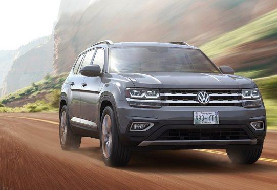 Автомобиль Volkswagen-Atlas