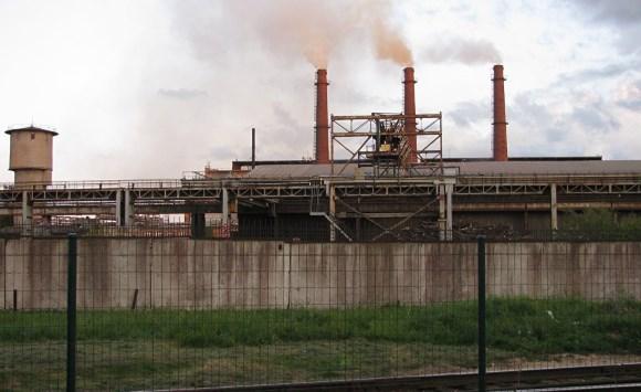 Завод Liepājas Metalurgs в Латвии