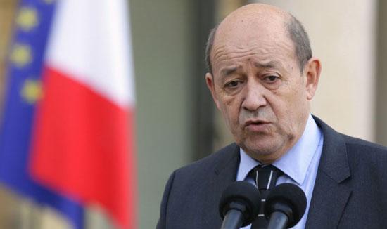 Глава французского МИД Жан-Ив Ле Дриан