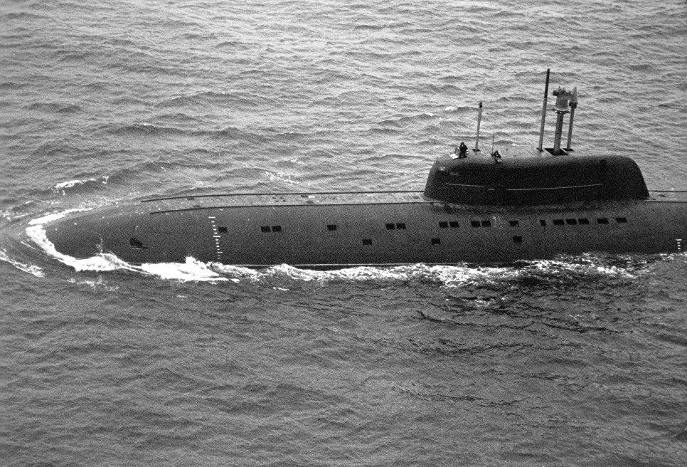 """Подводная лодка проекта """"Барракуда"""" К-239 """"Карп"""""""