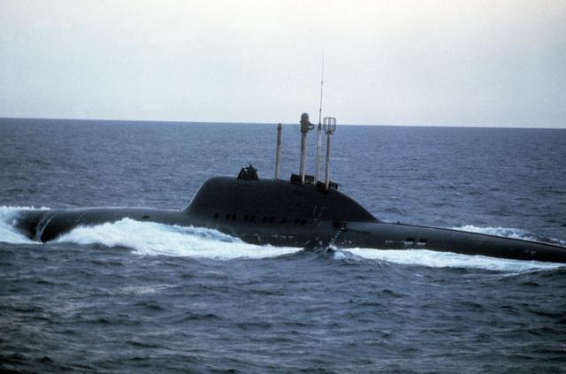 """Подводная лодка проекта 705(К) """"Лира"""""""