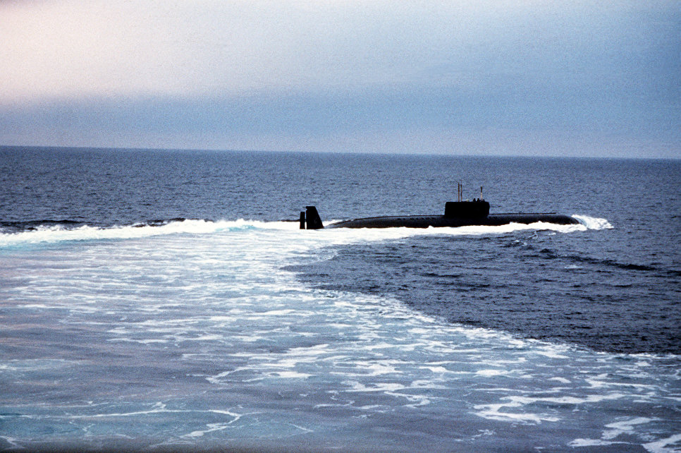 """Подводная лодка проекта 661 """"Анчар"""""""