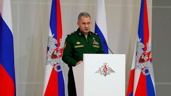 Министр обороны РФ Сергей Шойгу. Фото: www.globallookpress.com