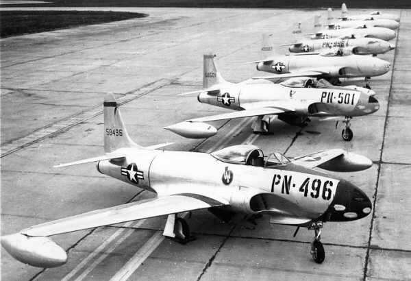 F-80. Фото: © Wikipedia.org